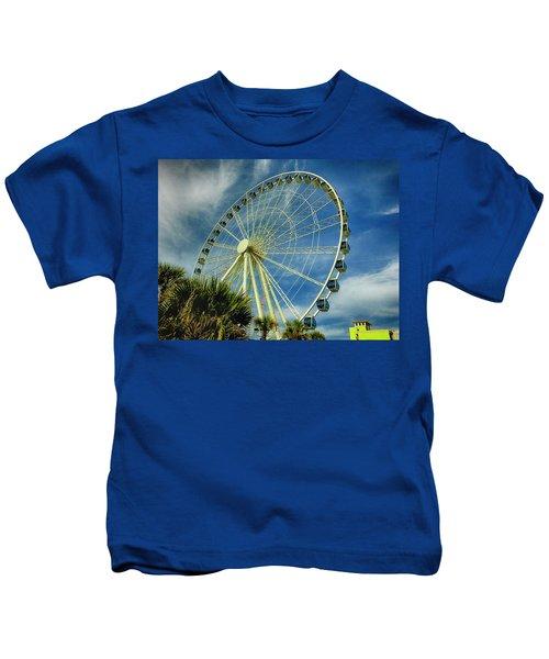 Myrtle Beach Skywheel Kids T-Shirt