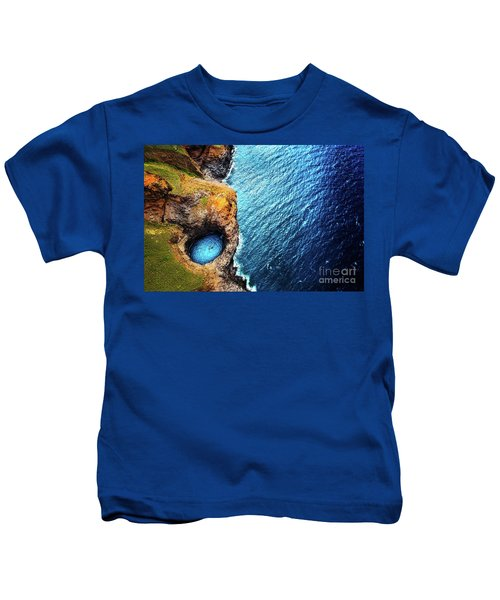 Na Pali Coast Kauai Kids T-Shirt
