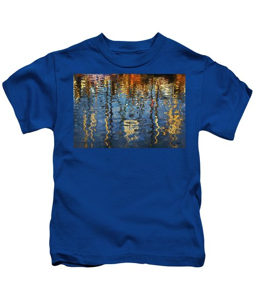 New Bedford Waterfront No. 5 Kids T-Shirt