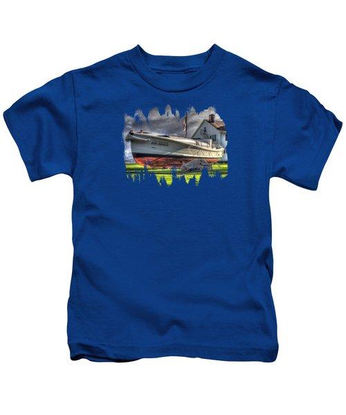 Newport Coast Guard Station Kids T-Shirt