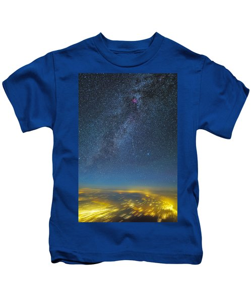 Night Flight Kids T-Shirt