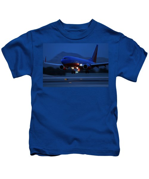 Night Landing Kids T-Shirt