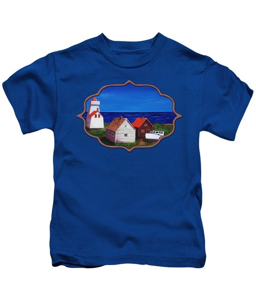 North Rustico - Prince Edwards Island Kids T-Shirt by Anastasiya Malakhova