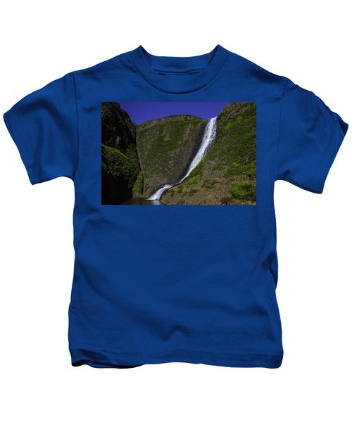 North Table Mountain Spring Falls Kids T-Shirt