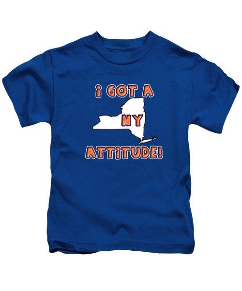 Ny Attitude-mets Colors Kids T-Shirt