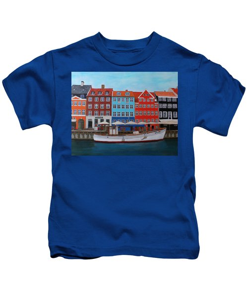 Nyhavn Copenhagen Kids T-Shirt