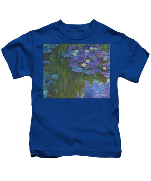 Nympheas En Fleur, 1914 To 1917  Kids T-Shirt