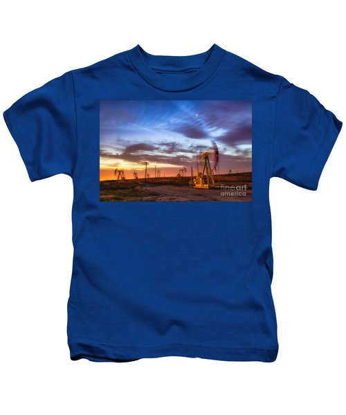 Oil Rigs 3 Kids T-Shirt