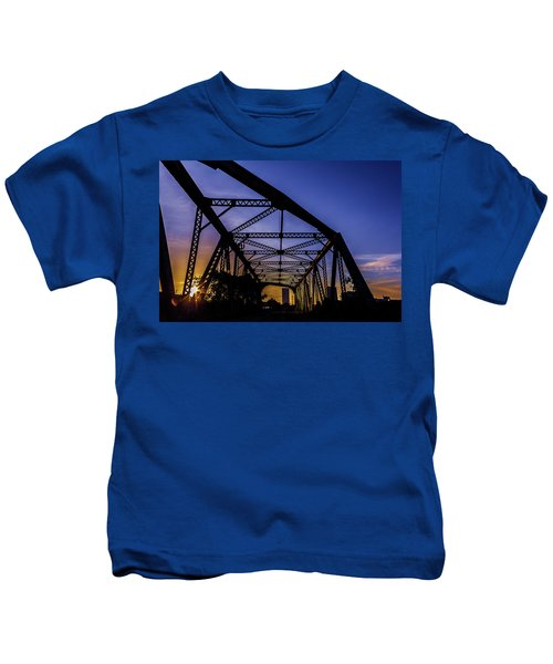 Old Steel Bridge Kids T-Shirt