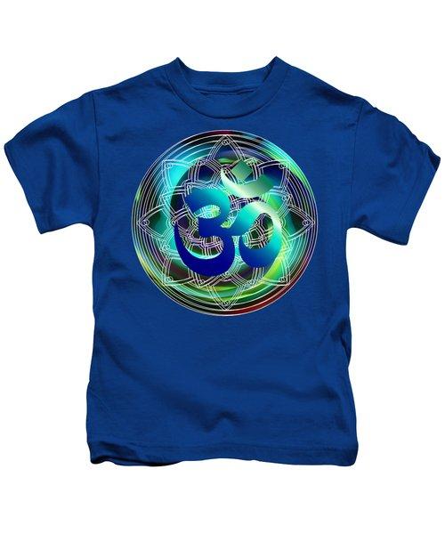 Om Vibration Ocean Kids T-Shirt