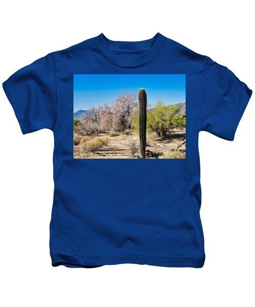 On The Ironwood Trail Kids T-Shirt