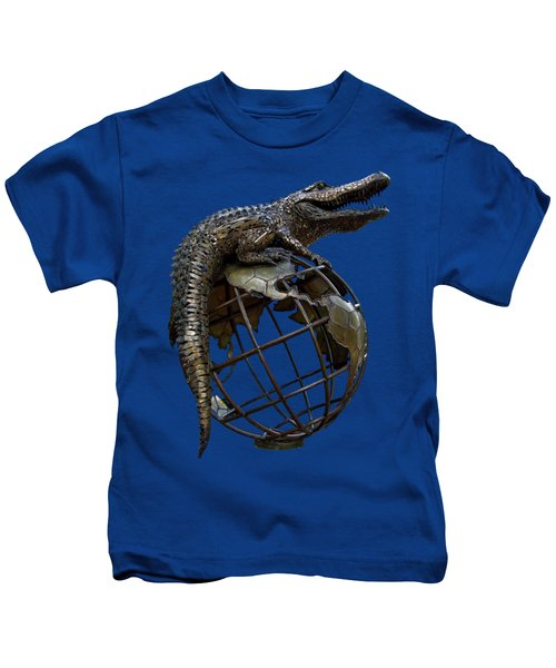 On Top Of The World Transparent For T Shirts Kids T-Shirt by D Hackett