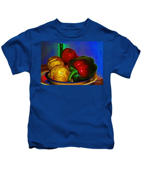 Onions Apples Pepper Kids T-Shirt