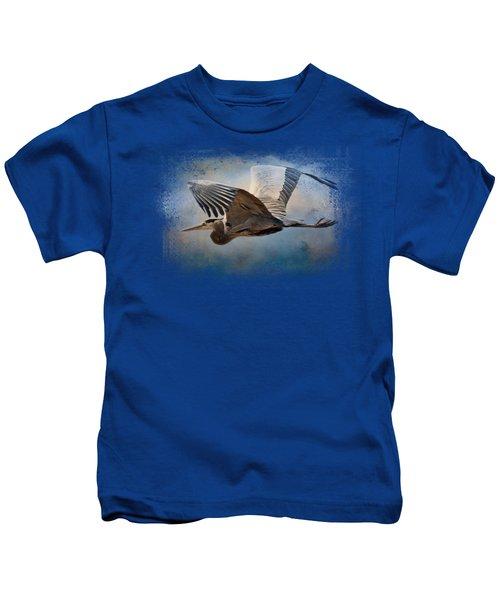 Over Ocean Skies Kids T-Shirt