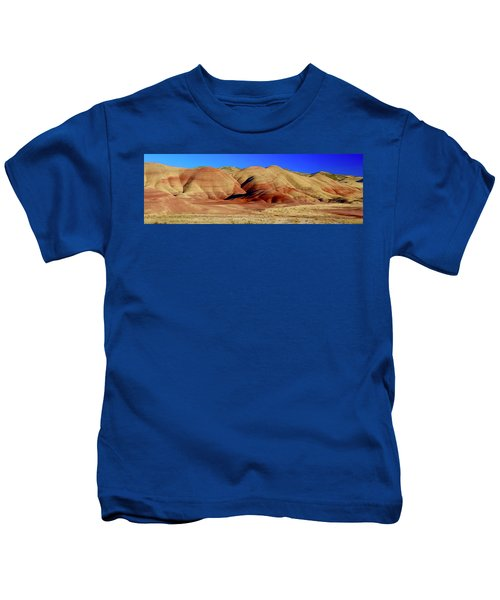 Painted Hills Pano Kids T-Shirt