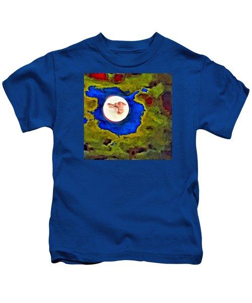 Painted Moon Kids T-Shirt