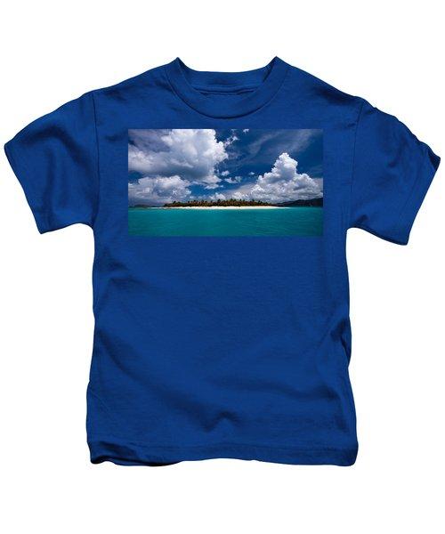 Paradise Is Sandy Cay Kids T-Shirt