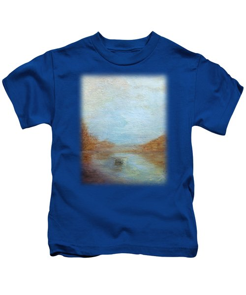 Peaceful Pond Kids T-Shirt