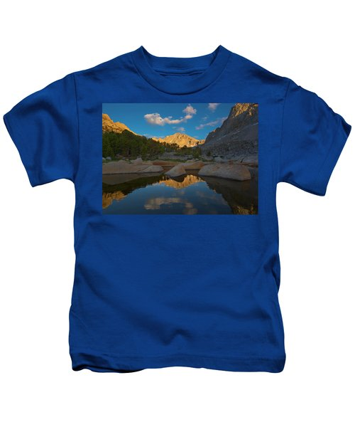 Peaks And Valleys Kids T-Shirt