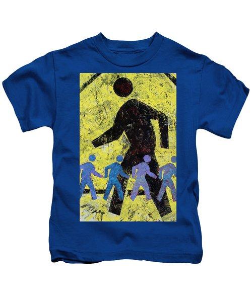 Pedestrian Crossing Kids T-Shirt