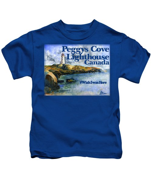 Peggys Cove Lighthouse Shirt Kids T-Shirt