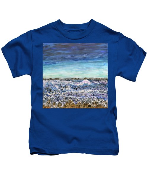 Pensive Waters Kids T-Shirt