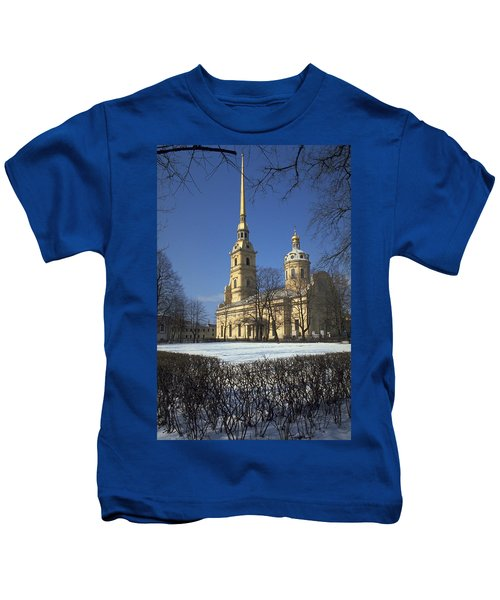 Peter And Paul Cathedral Kids T-Shirt