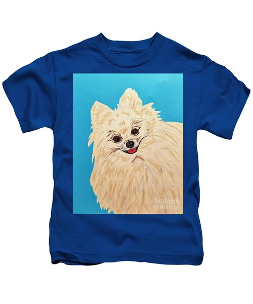 Phebe Date With Paint Nov 20th Kids T-Shirt