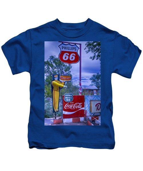 Phillips 66 Sign Kids T-Shirt