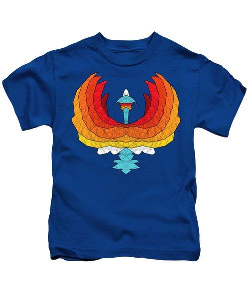 Phoenix Kids T-Shirt by Dusty Conley