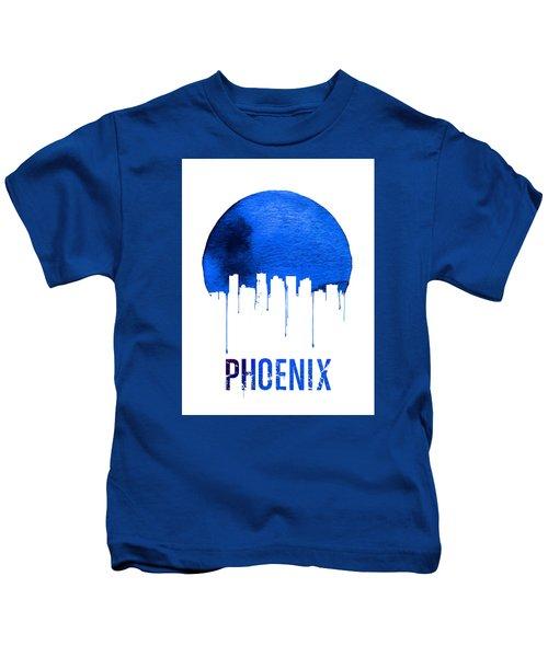 Phoenix Skyline Blue Kids T-Shirt