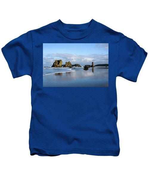 Picturesque Rocks Kids T-Shirt