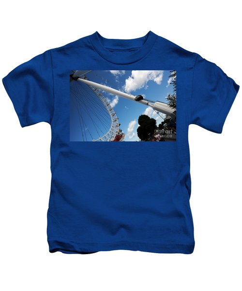 Pillar Of London S Ferris Wheel  Kids T-Shirt