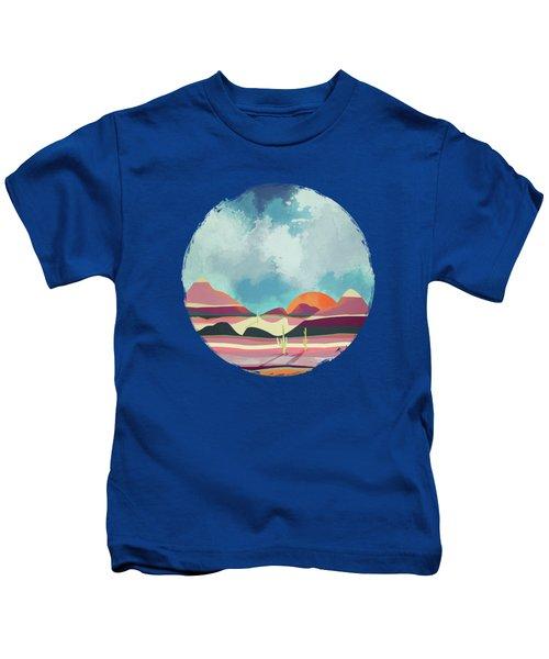 Pink Desert Glow Kids T-Shirt