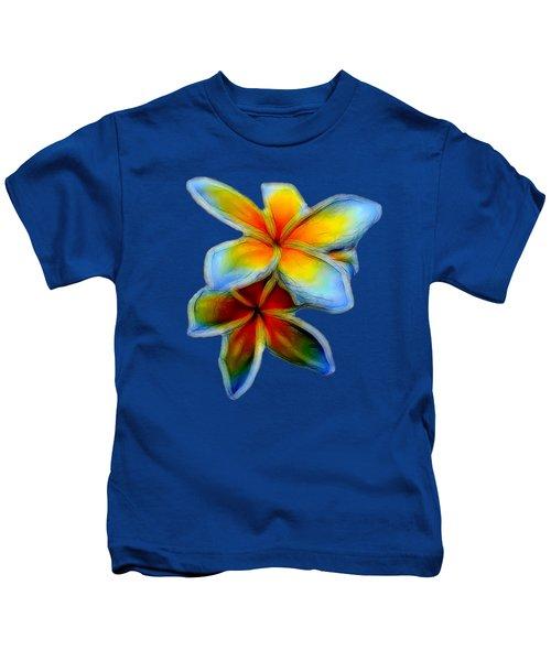 Plumerias Kids T-Shirt