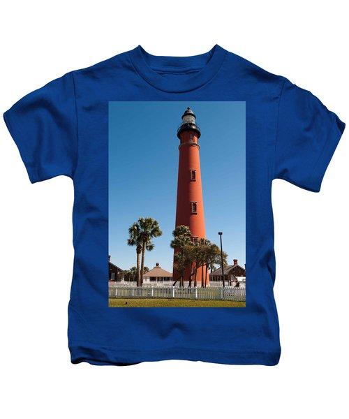 Ponce De Leon Inlet Light Kids T-Shirt