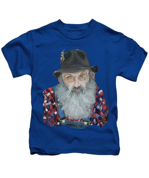 Popcorn Sutton Moonshiner Bust - T-shirt Transparent Kids T-Shirt