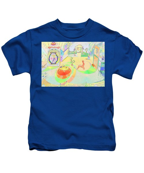 Portals And Perspectives Kids T-Shirt