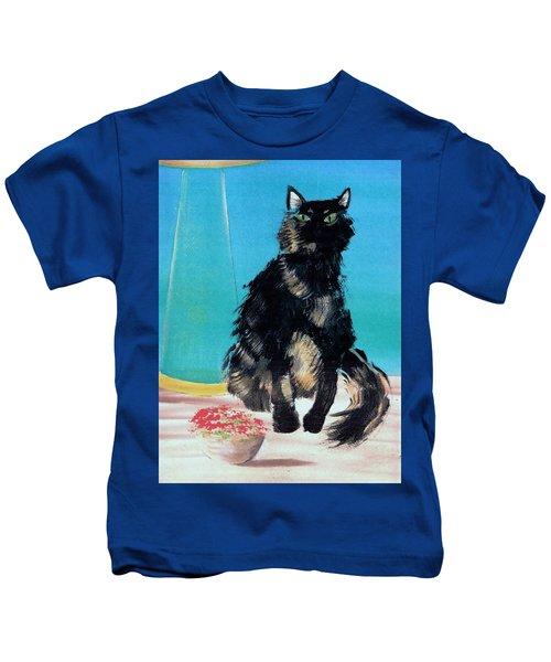 Portrait Of Muffin Kids T-Shirt