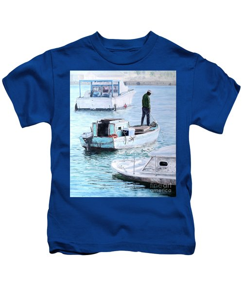 Potter's Cay Blues Kids T-Shirt