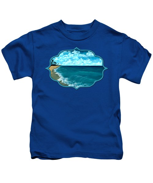 Punta Cana Beach Kids T-Shirt