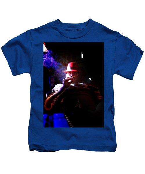 Purple Haze Boss  Kids T-Shirt
