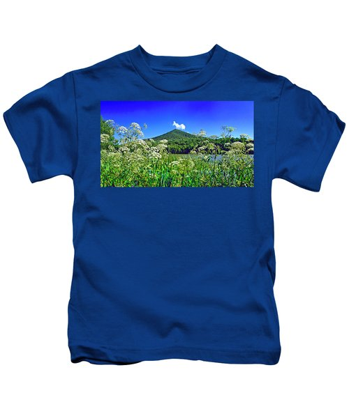 Queen Anne's Lace, Peaks Of Otter  Kids T-Shirt