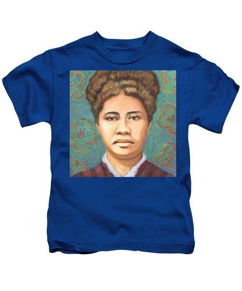 Queen Liliuokalani Kids T-Shirt