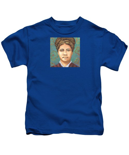 Queen Liliuokalani Kids T-Shirt