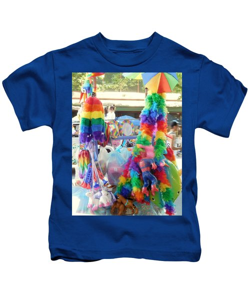 Rainbow Cart Kids T-Shirt
