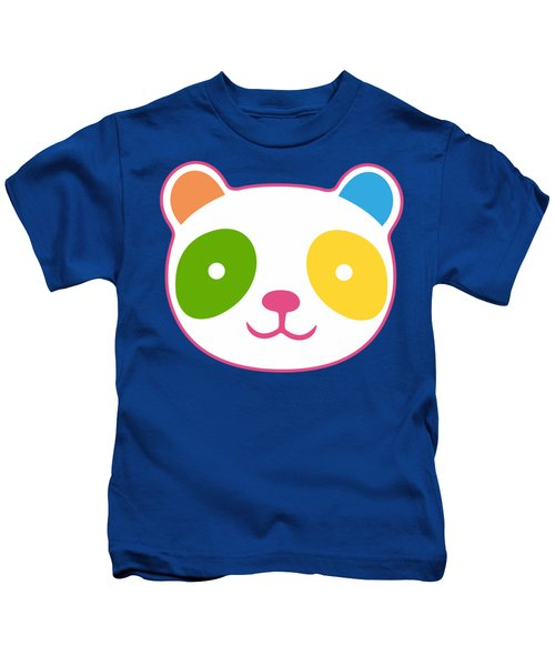 Rainbow Panda Kids T-Shirt