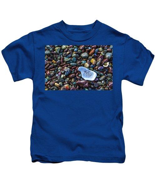 Rainbow Pebbles Kids T-Shirt