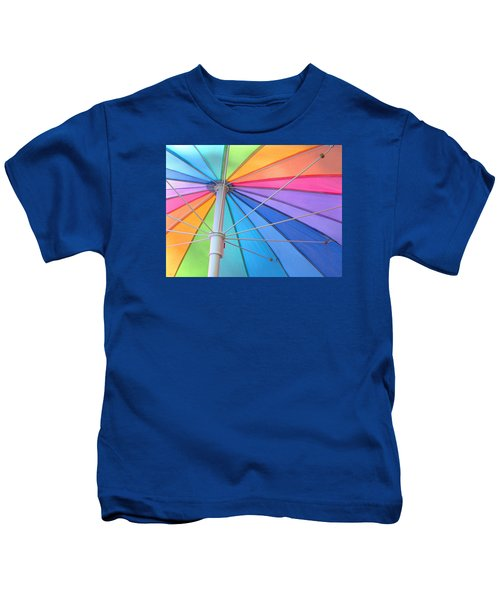 Rainbow Umbrella Kids T-Shirt