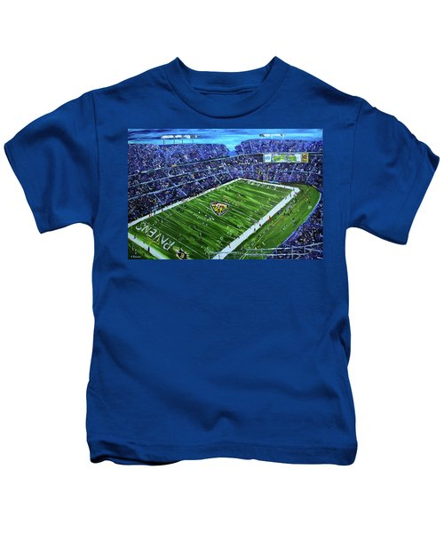 Ravens Stadium Kids T-Shirt